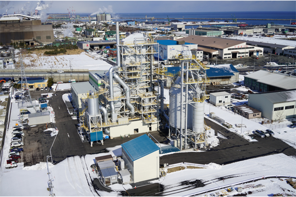 Hachinohe Biomass Power Generation Plant