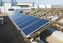 Solar panels and environmentally friendly wooden frames