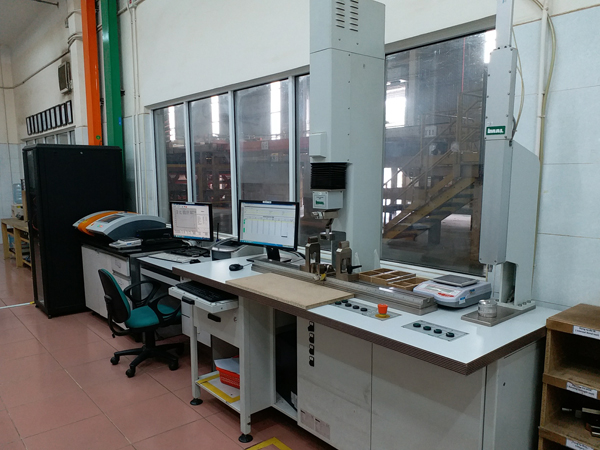 Quality control laboratory at VECO