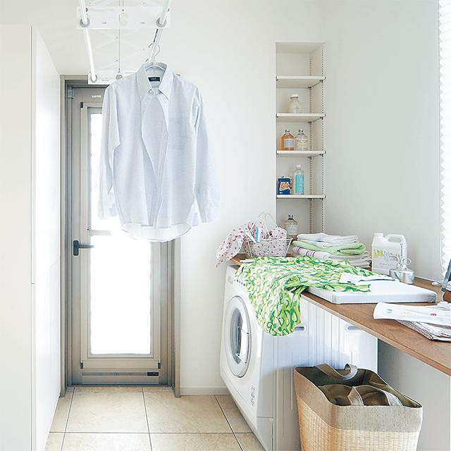 わたしの家洗濯物がしっかり乾く! 部屋干しのアイデア&ヒント