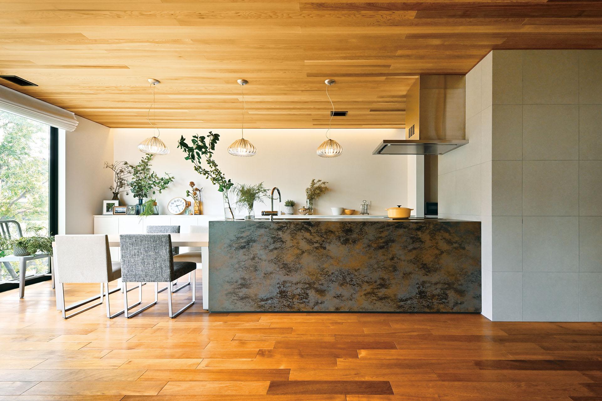 美しい佇まいのキッチン